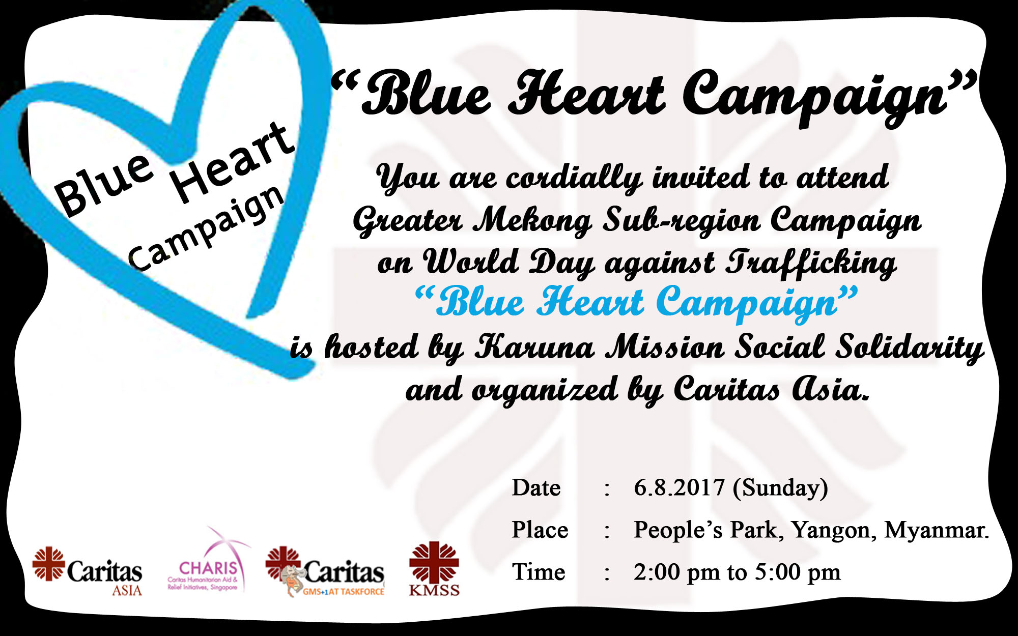 Blue Heart Campaign Campaign On World Day Against Trafficking